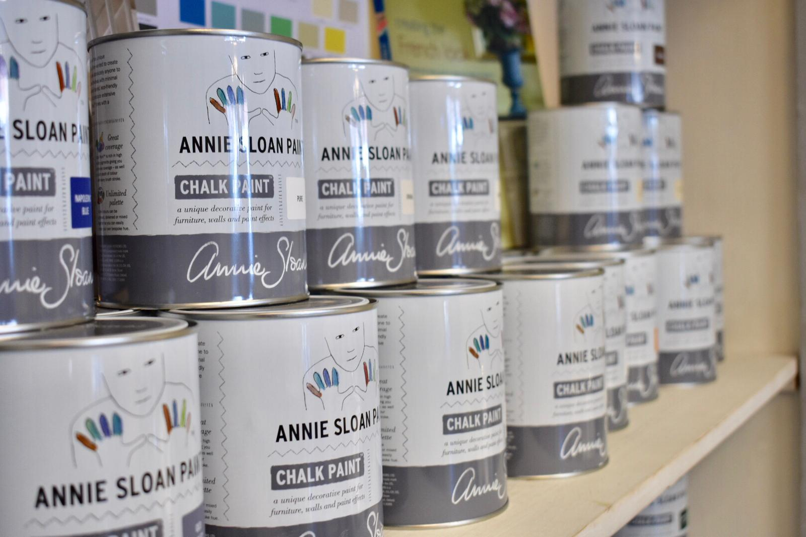 We are Official Stockists of Annie Sloan Chalk Paint so your colour options are endless!