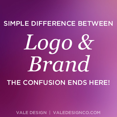 The simple difference between a Logo and a Brand - Vale Design