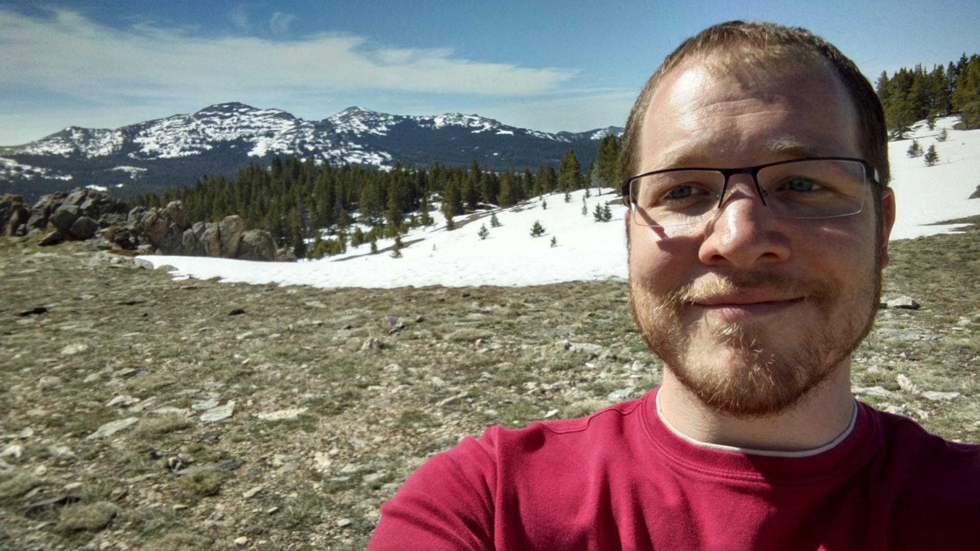 Powder Pass in Wyoming on my way to Yellowstone.