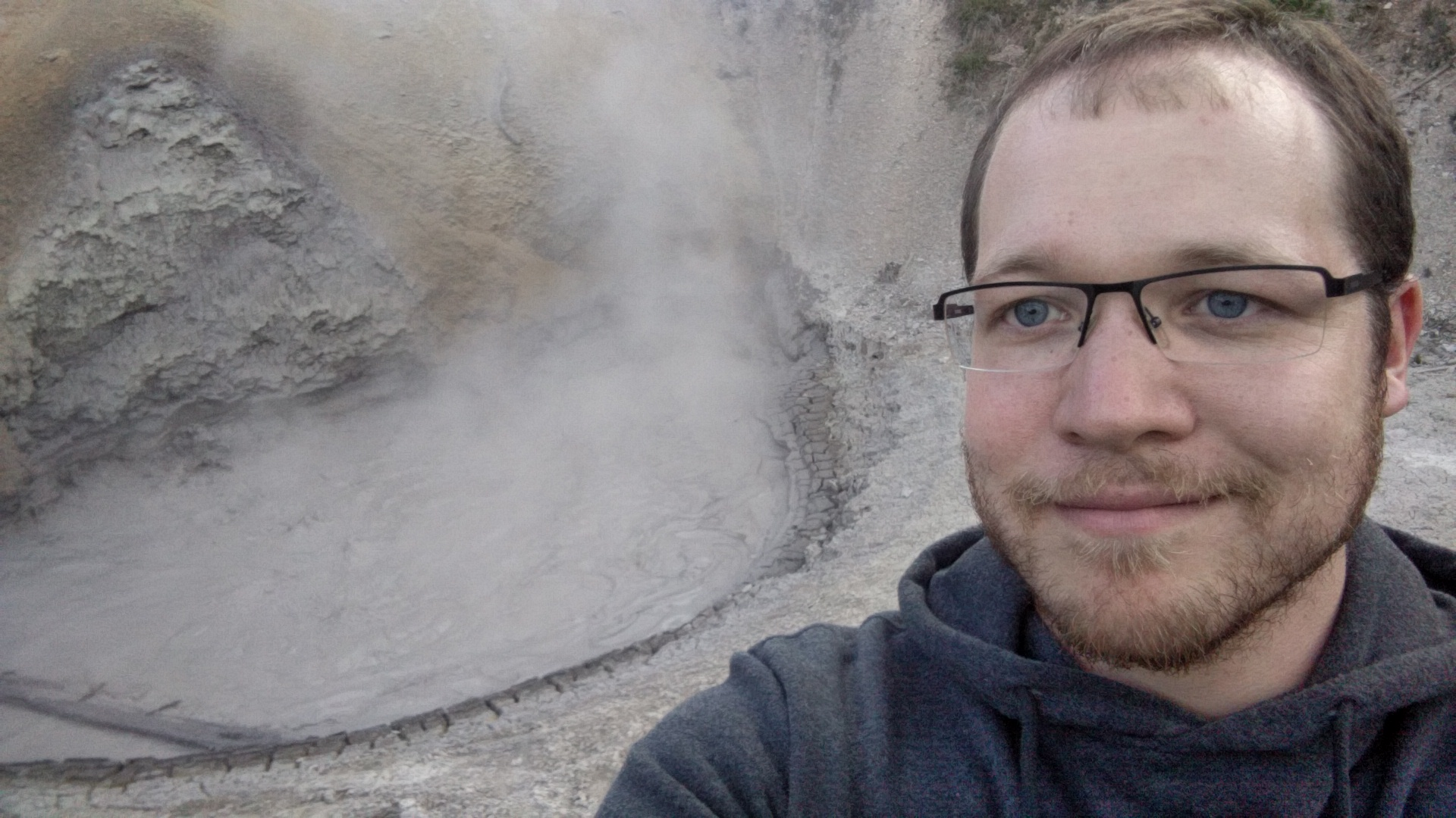 Mud Volcano, apparently it used to shoot mud up in the air and now it just bubbles.