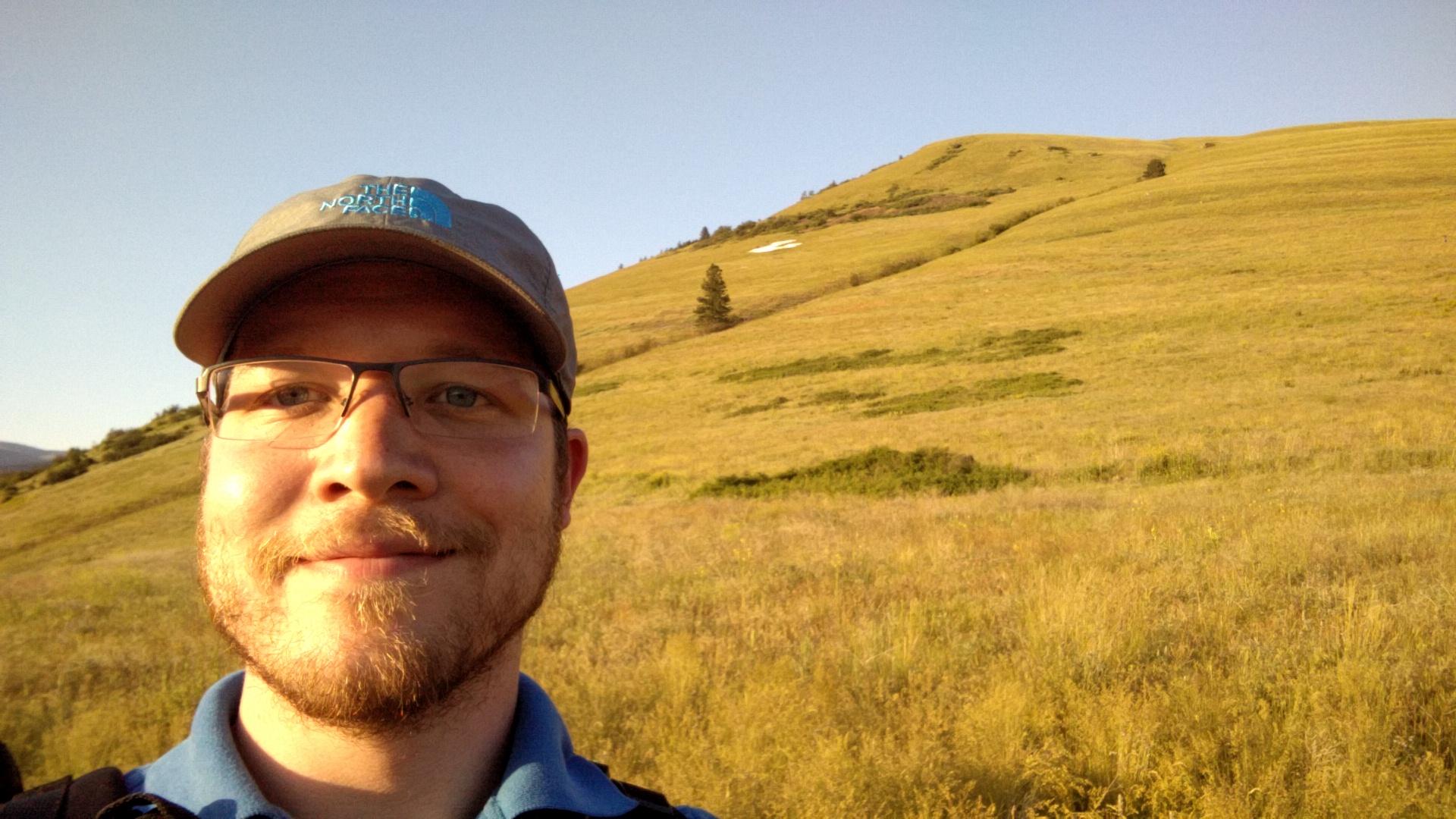 Mount Jumbo, and my new hat :)