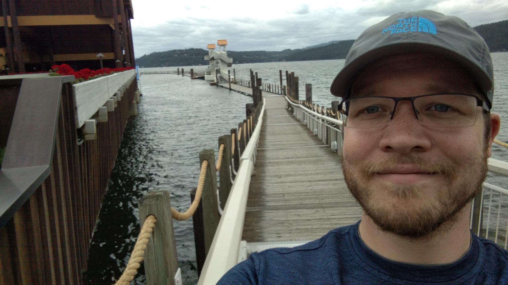 The world's longest floating boardwalk.