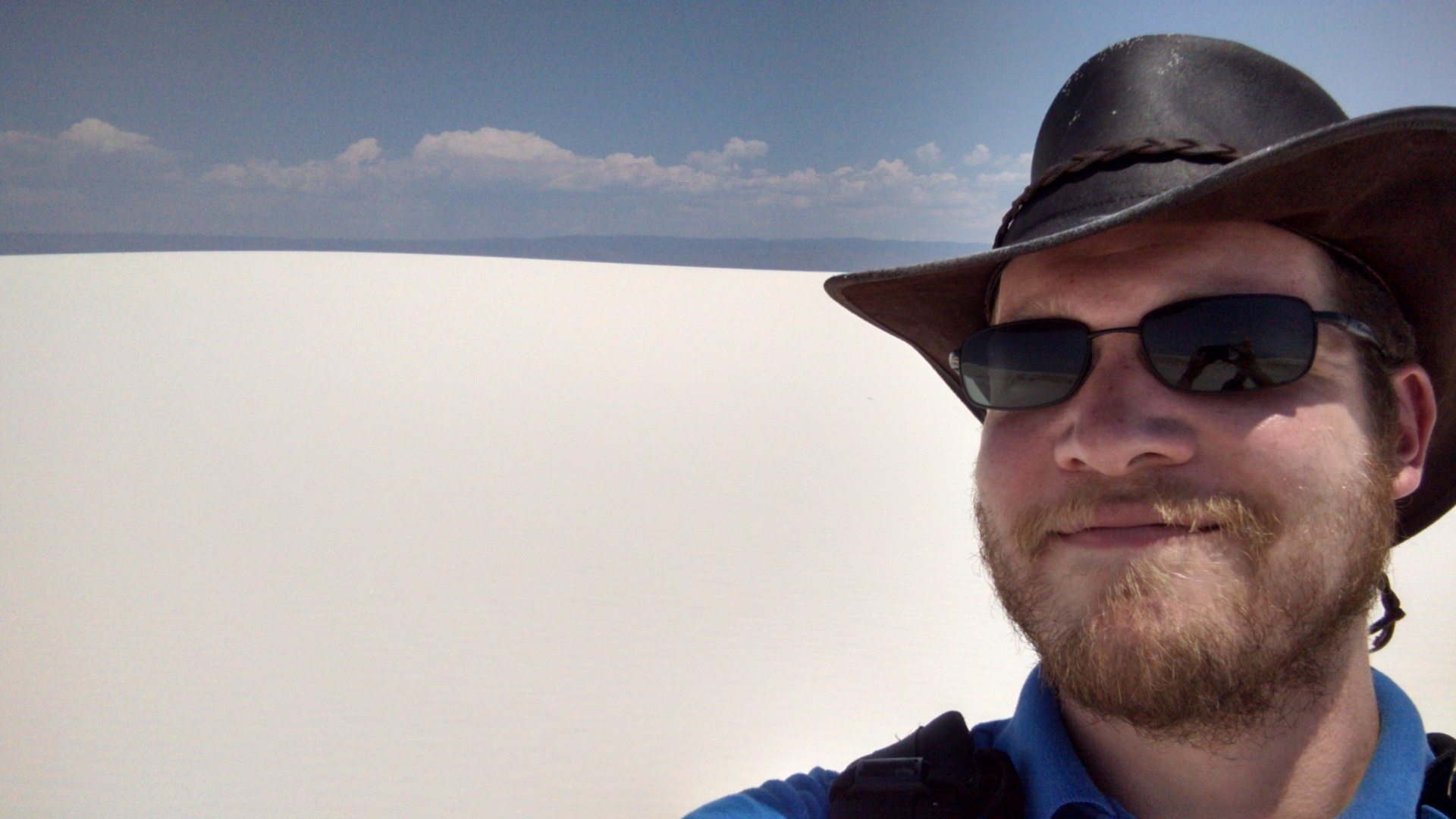 Me in the White Sands.