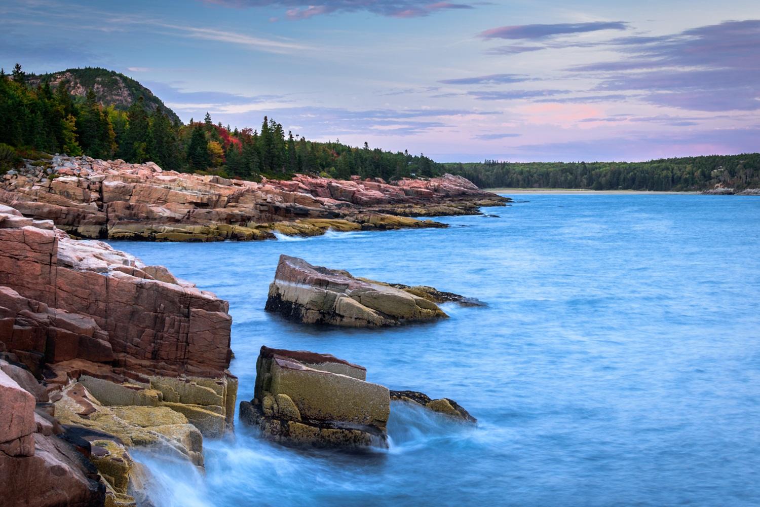 Acadia National Park October 2017 - I meant to write this a few weeks ago, but I didn't. This is my trip to Acadia National Park last month. I had just spent the previous day in Baxter State Park (Maine) and was now on my way to Acadia.