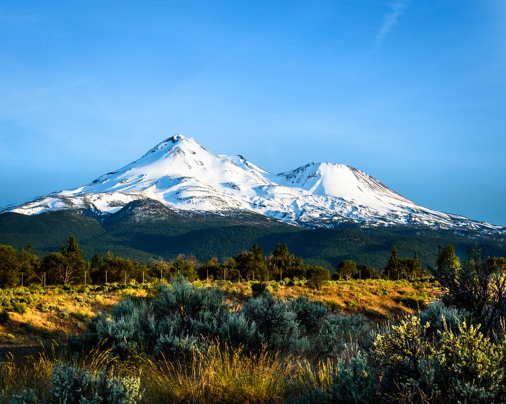 """Mount Shasta"" - California"