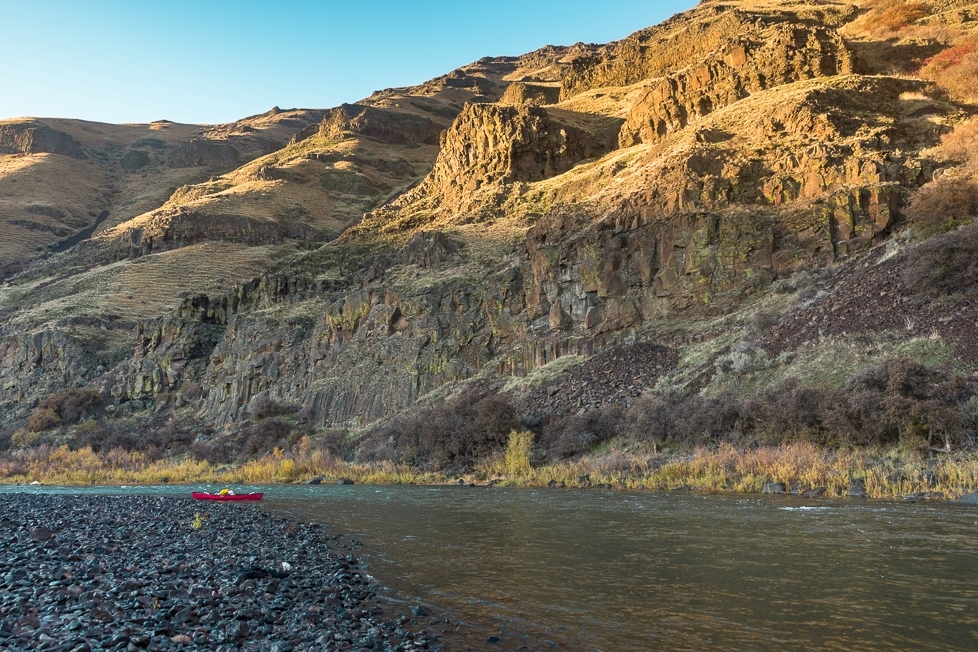 OREGON - Canoeing the John Day River