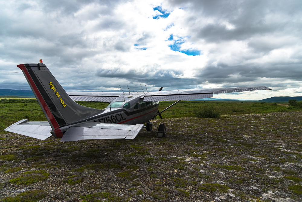 The last thing I remember the bush pilot asking me and my fishing buddy Cam before he took off was, 'do you have a satellite phone!?'