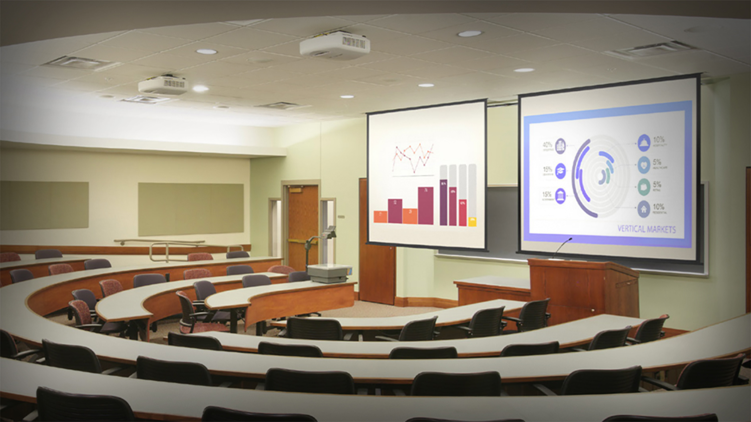 technology enhancement for classroom and campus, presentation, collaboration