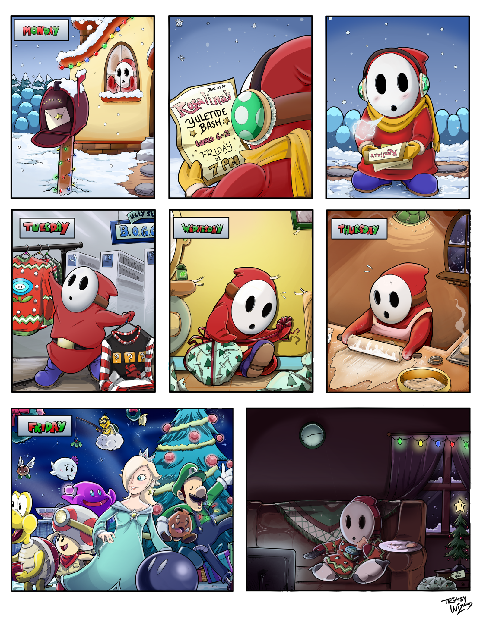 11 - Shy Guy Adventures - The Christmas Party.png