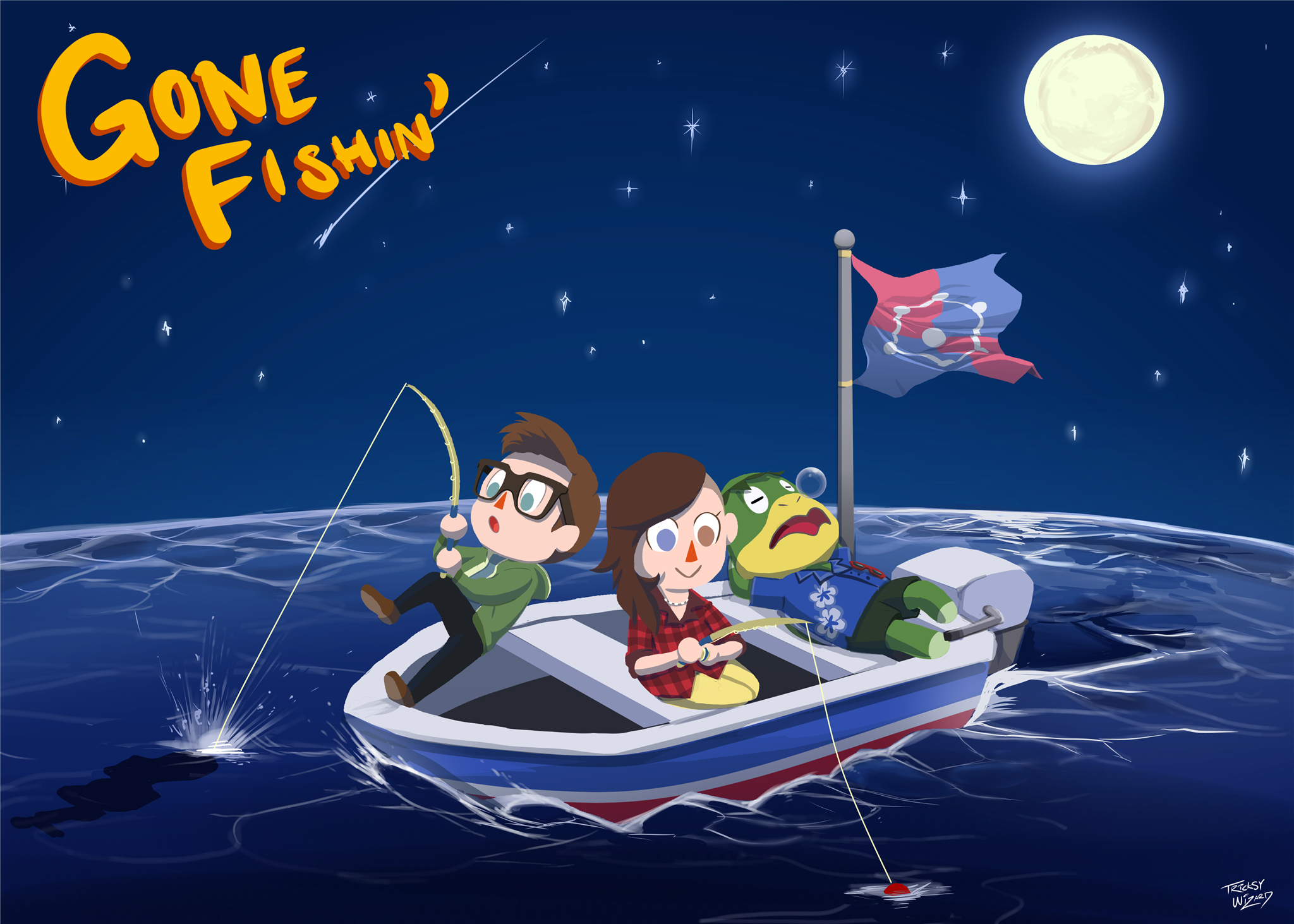 Gone Fishin' For Valentine's Day.png