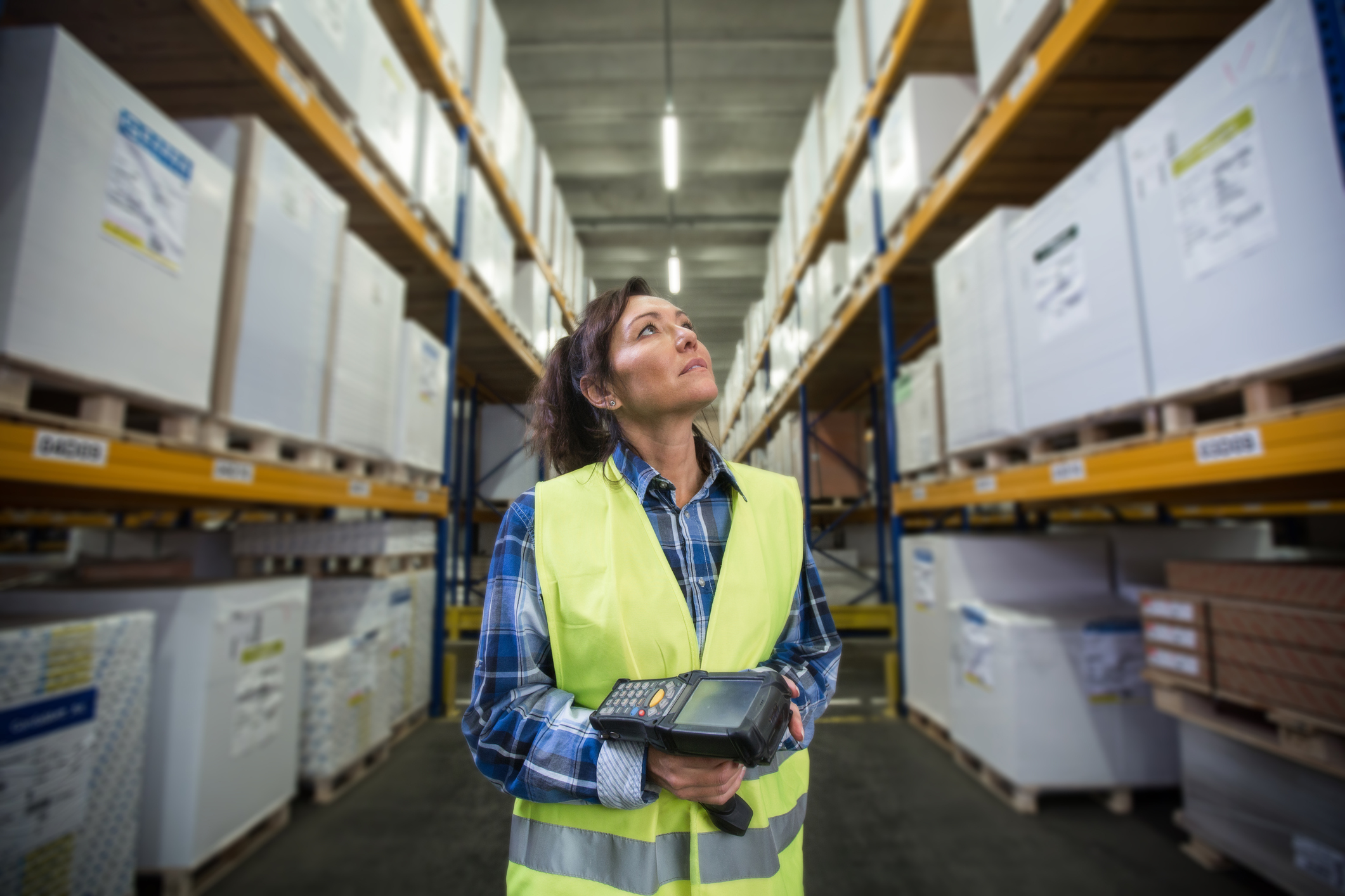 orders get picked - Our staff then disappear into the aisles of the warehouse, picking items as they go. All 'consumer' orders received by 3.00pm are despatched the same day. Wholesale orders vary due to the number of items but are completed as soon as we can. We pick all the items onto our oversized trolleys and then wheel them into the packing area.