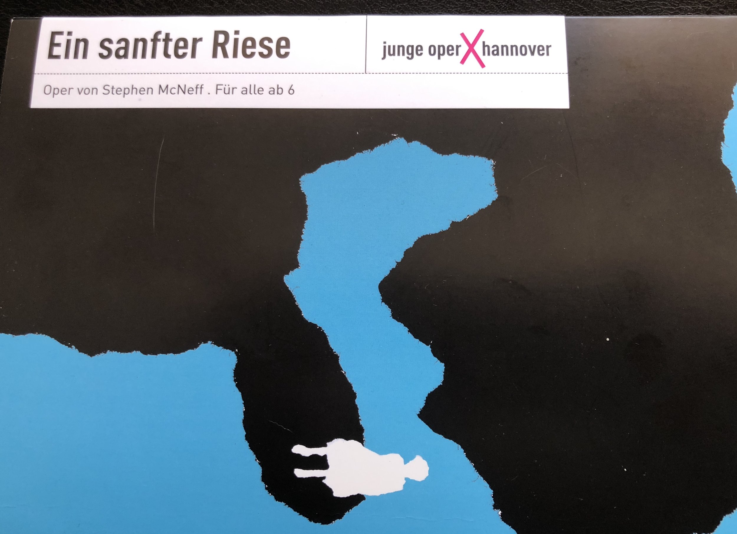 Programme Cover for Ein sanfter Riese (Gentle Giant)