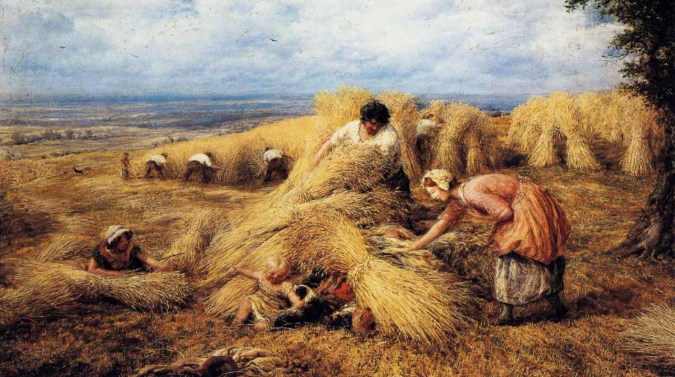 (John Linnell - The Harvest Cradle)