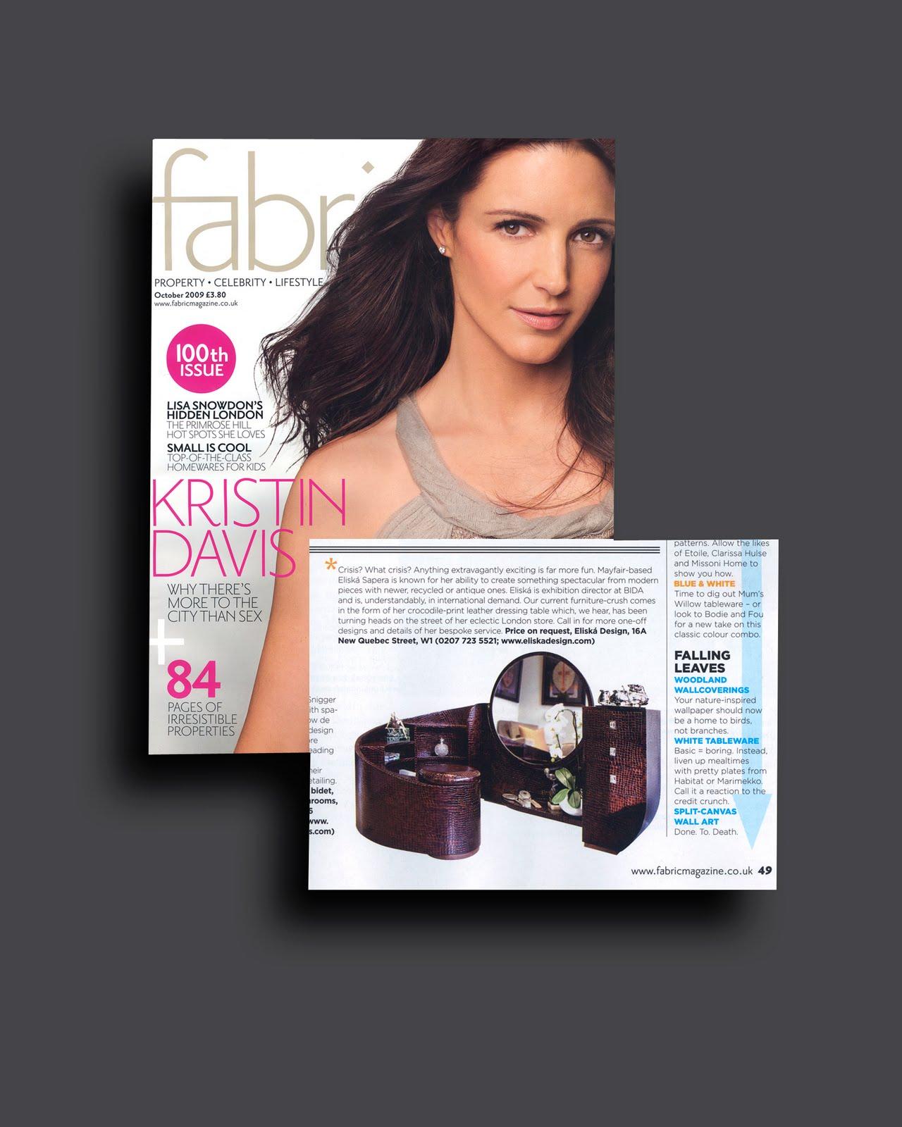 Fabric Magazine October 2009 Fabric Magazine October 2009