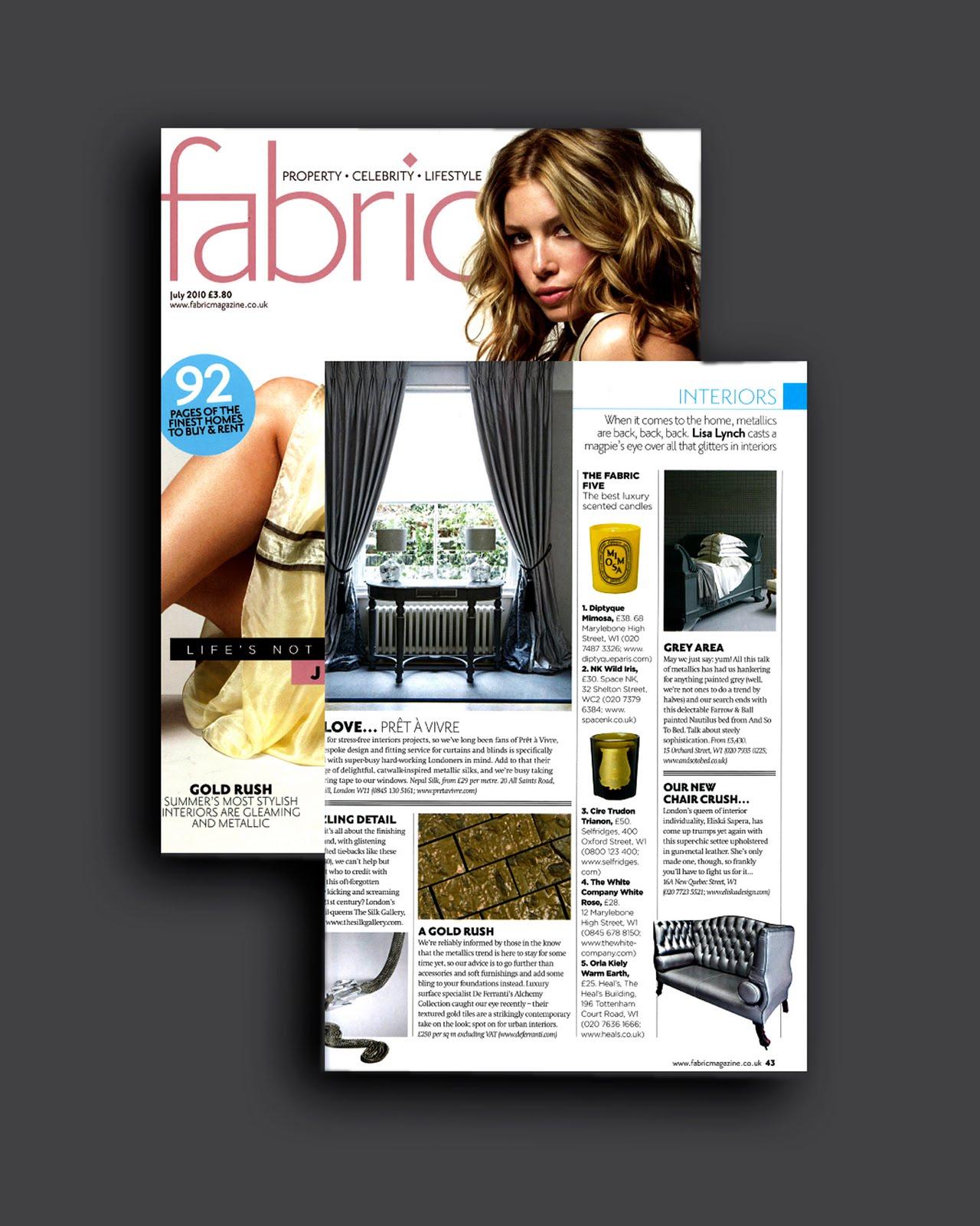 Fabric Magazine July 2010 Fabric Magazine July 2010