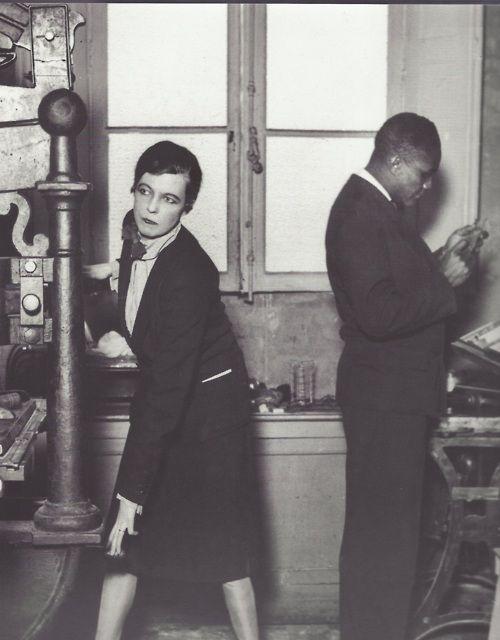Nancy Cunard and Henry Crowder,