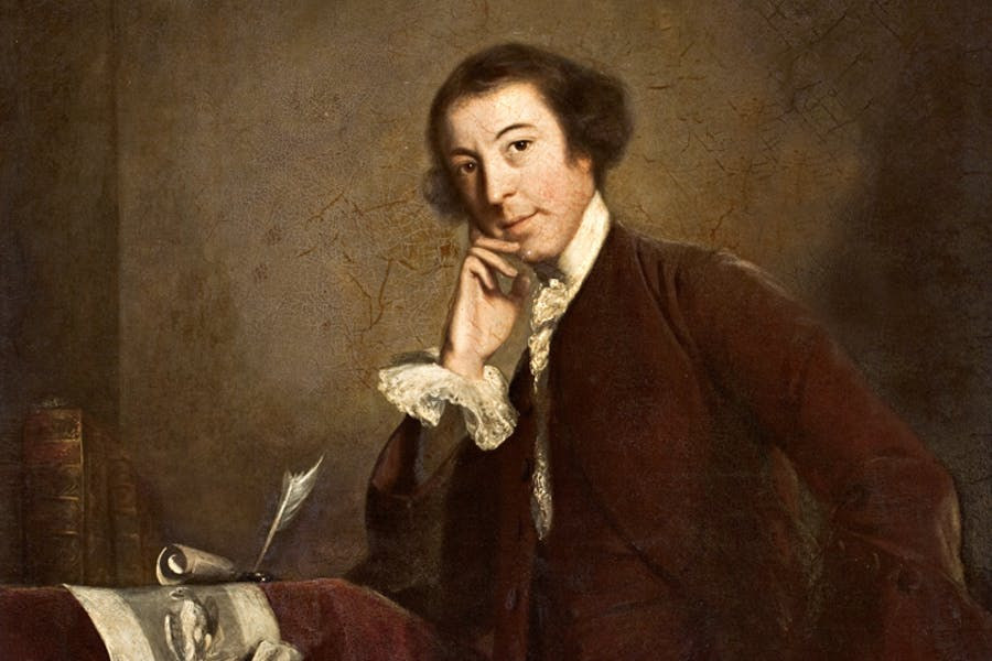 Portrait of Horace Walpole by Sir Joshua Reynolds, 1757
