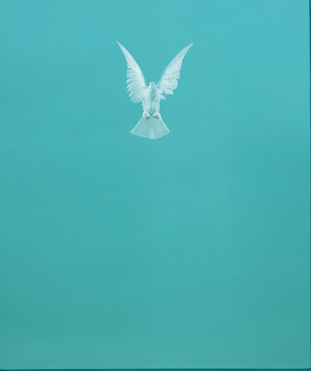 Damien Hirst,  The Incomplete Truth, 2006.