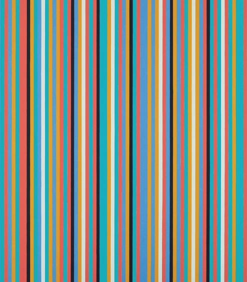 Bridget Riley,  Songbird, 1982