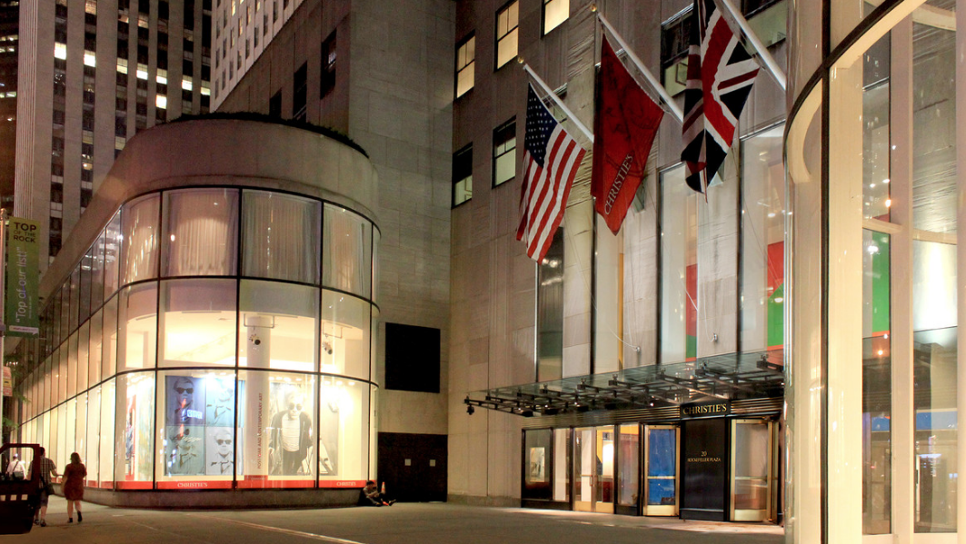 Christie's Rockefeller Centre, New York