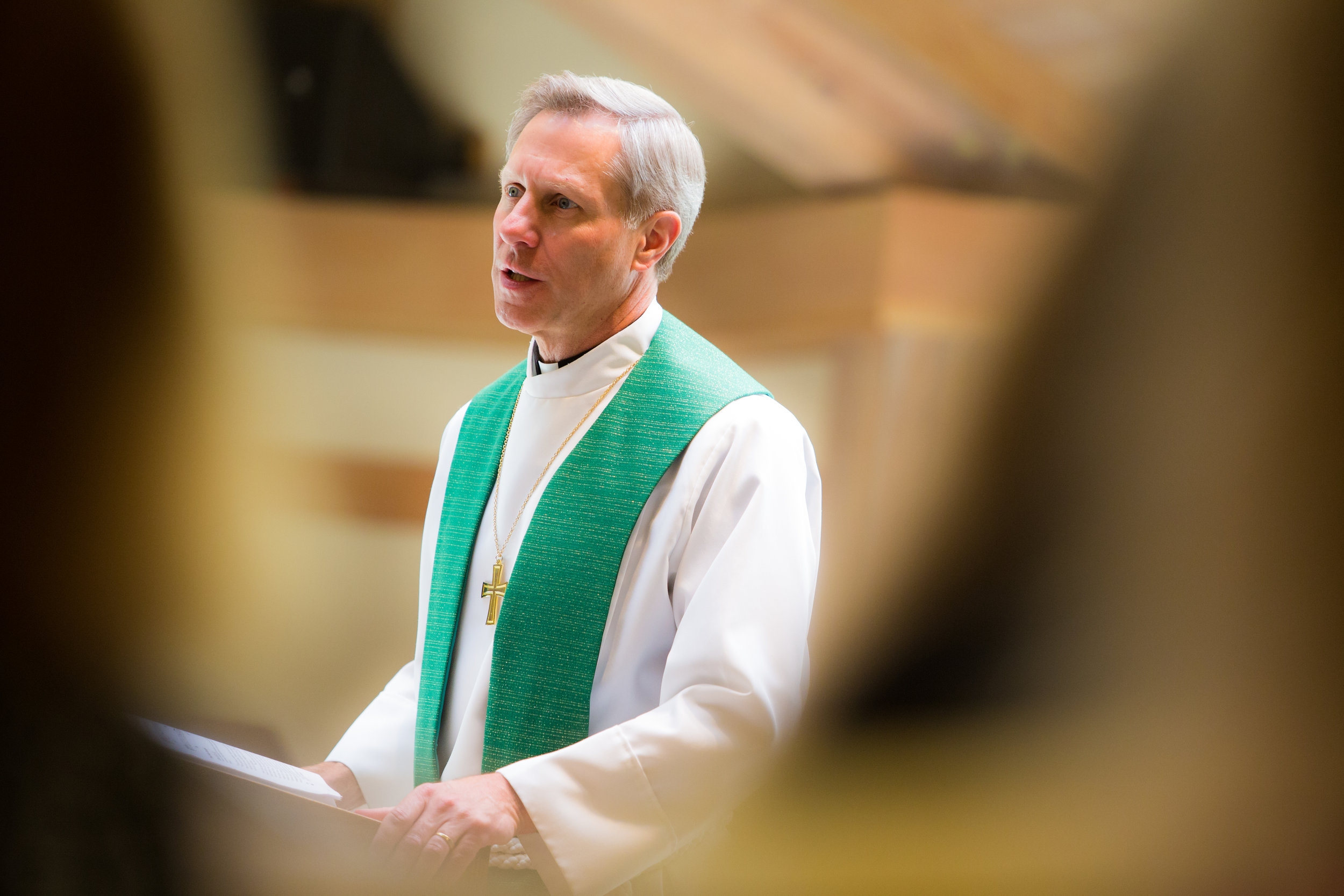 Pastor Mike Teaching