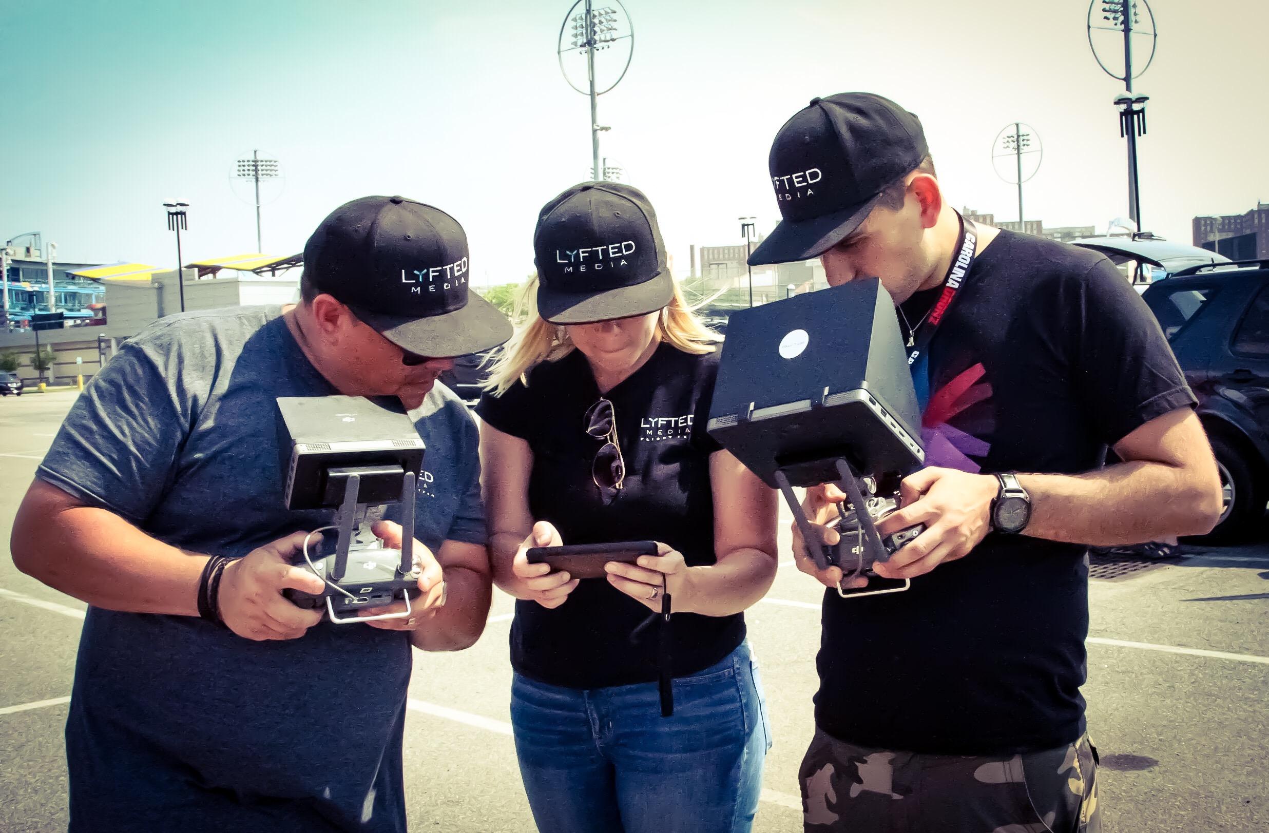 Teamwork LYFTED MEDIA Flight Team at work!.jpeg