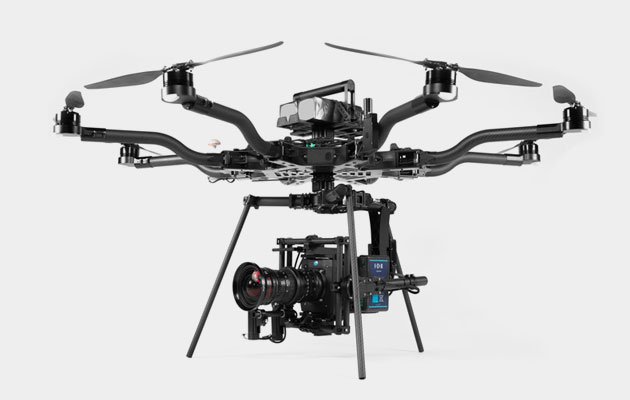Alta 8 Heavy-lift Multirotor - 8 rotor heavy-lift drone with Movi Pro for DSLR/Alexa Mini/REDWide array of lenses/optics