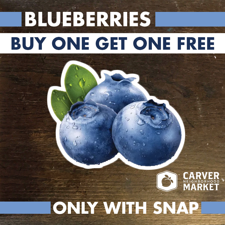 Twice as nice... - Shopping with SNAP/EBT? You can double your bucks when purchasing produce.