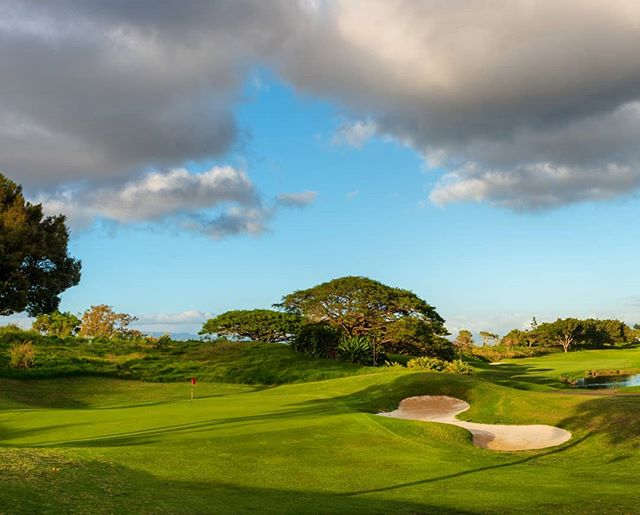 When is your next round at Makani? #beautifulgolfcourses #makanigolfclub #golfhawaii #hawaiigolf