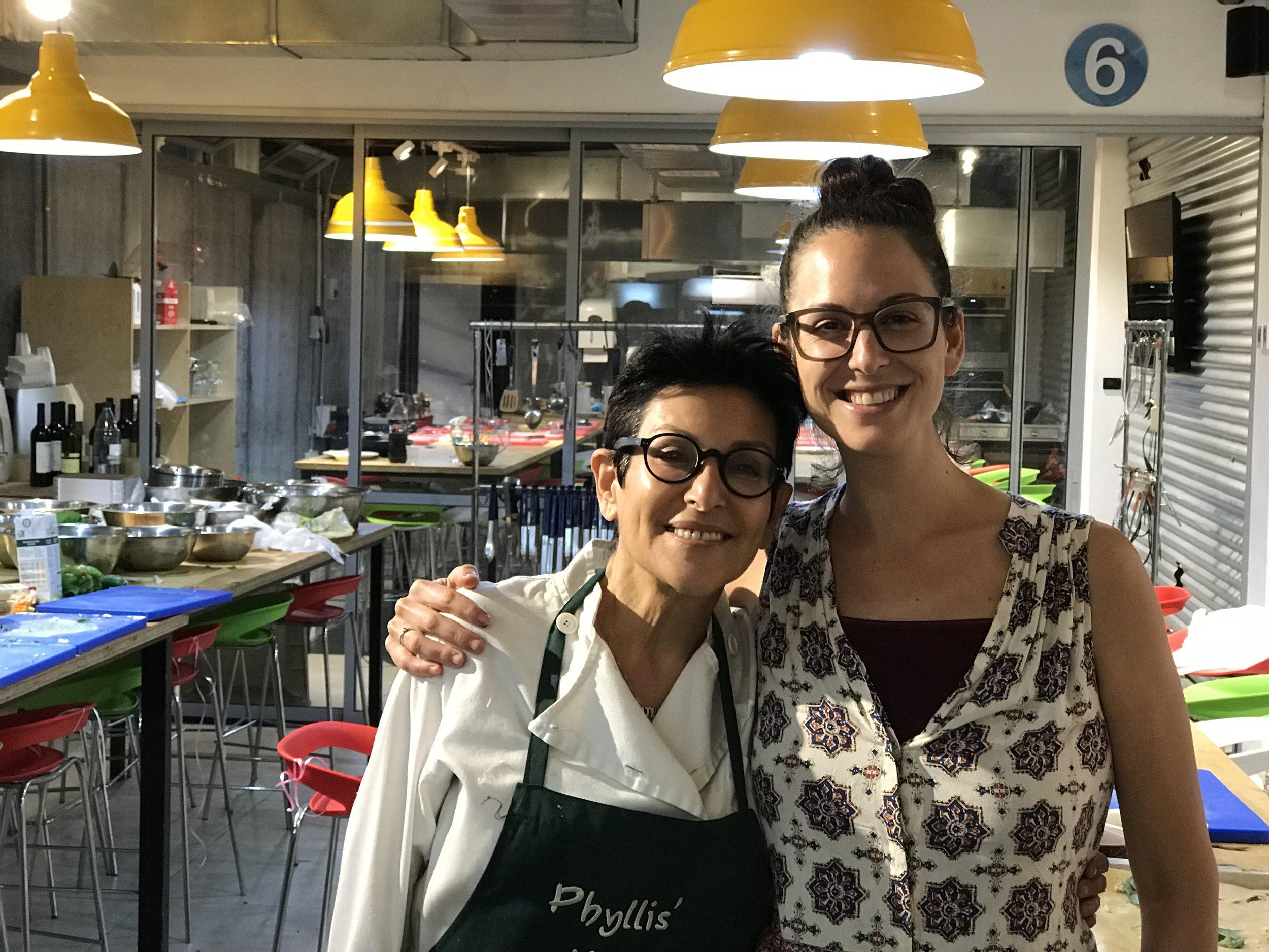 Chef Phyllis Glazer of Phyllis' Kitchen (Tel Aviv, Israel)