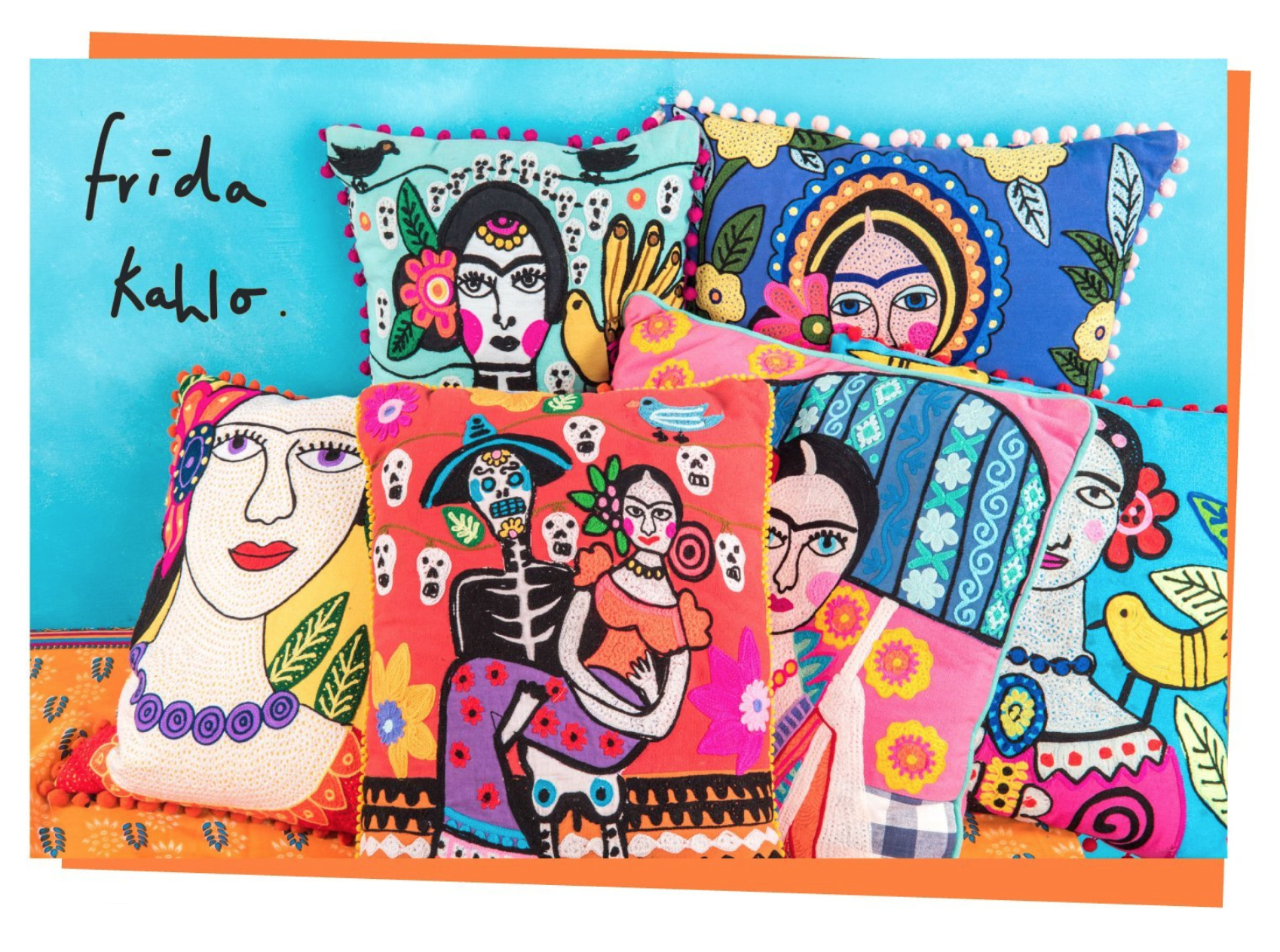 Frida Kahlo Campaign for Ian Snow Ltd