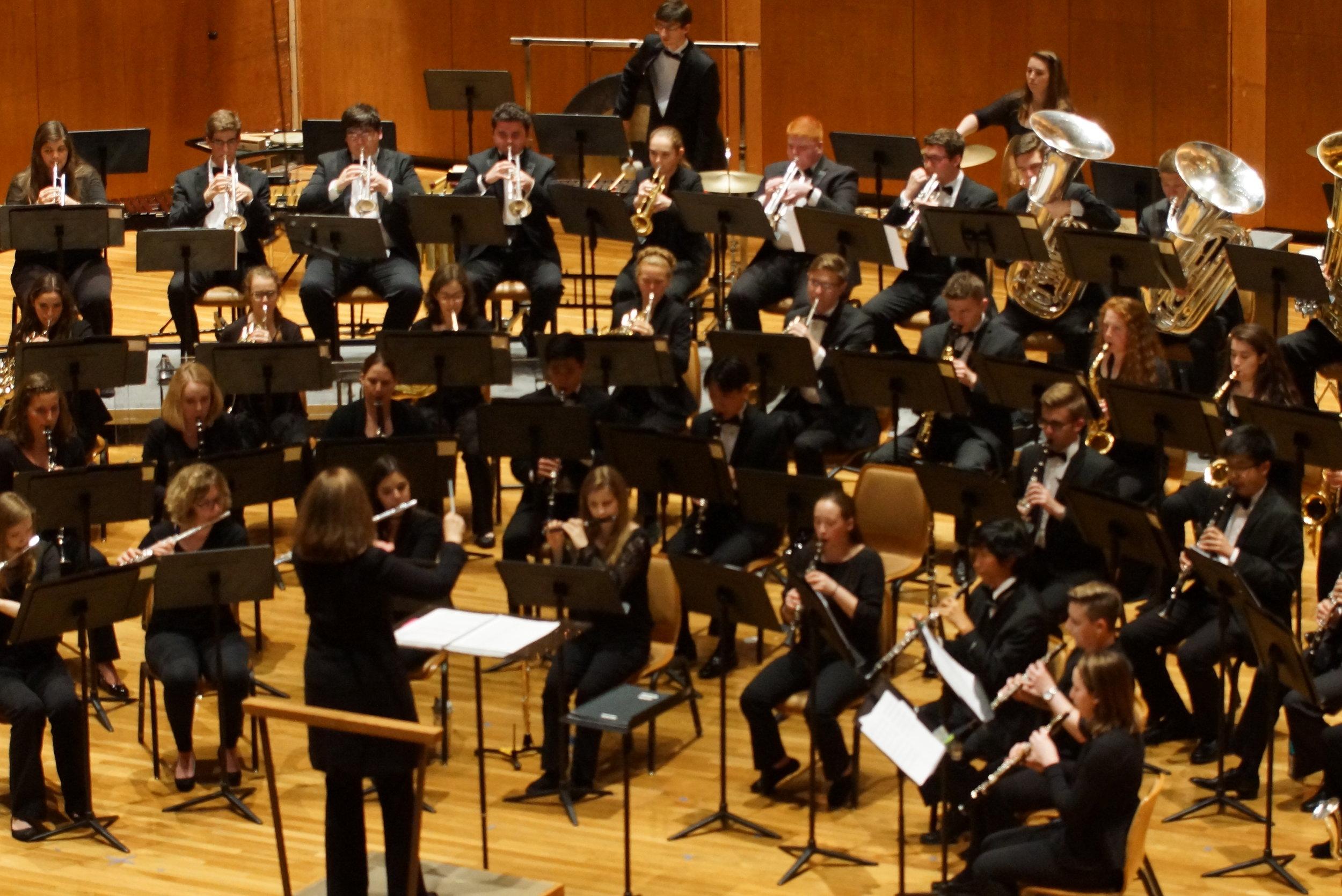 Wind Orchestra - Dr. Elizabeth Peterson, conductor