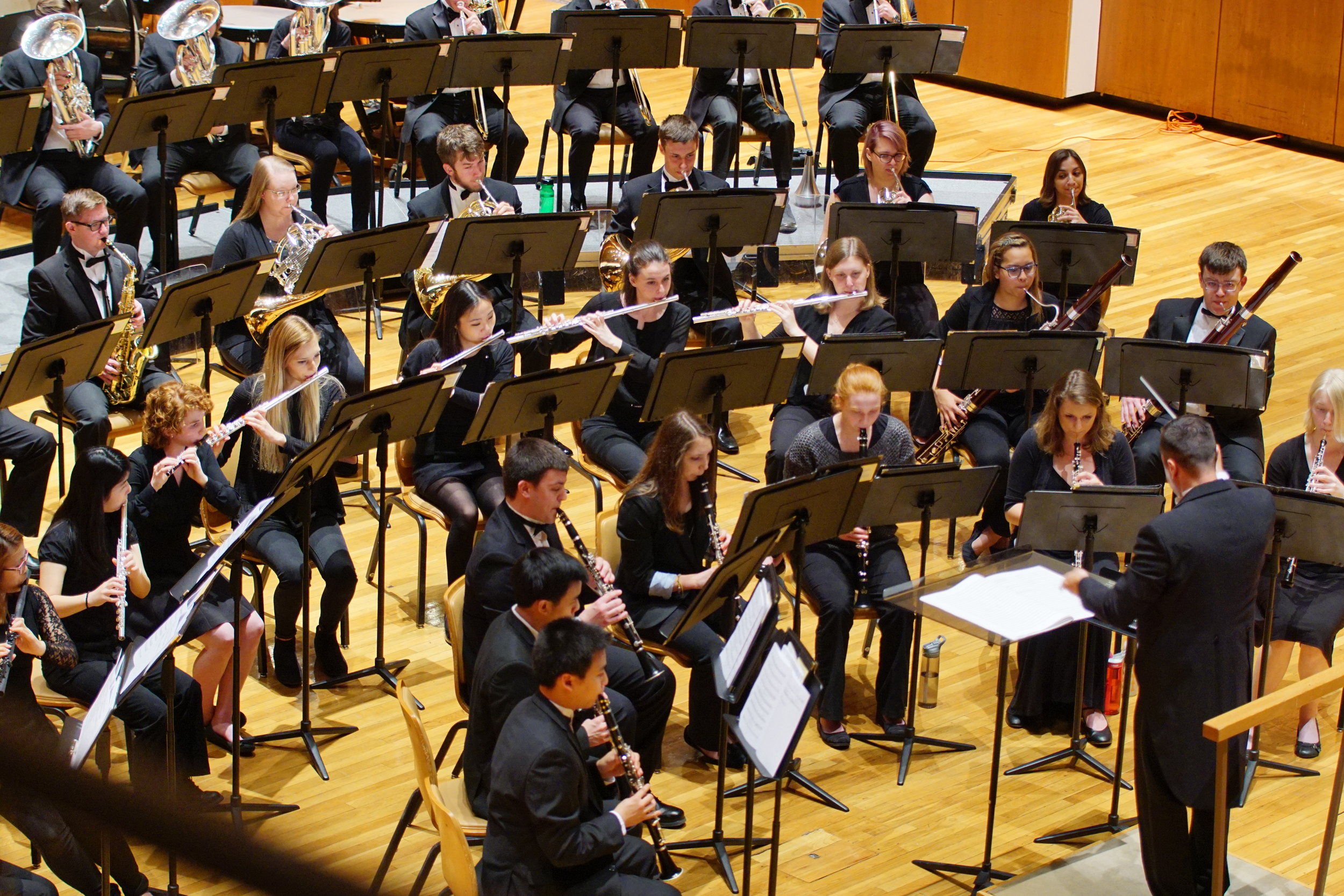Hindsley Symphonic Band - Dr. Anthony M. Messina, conductor
