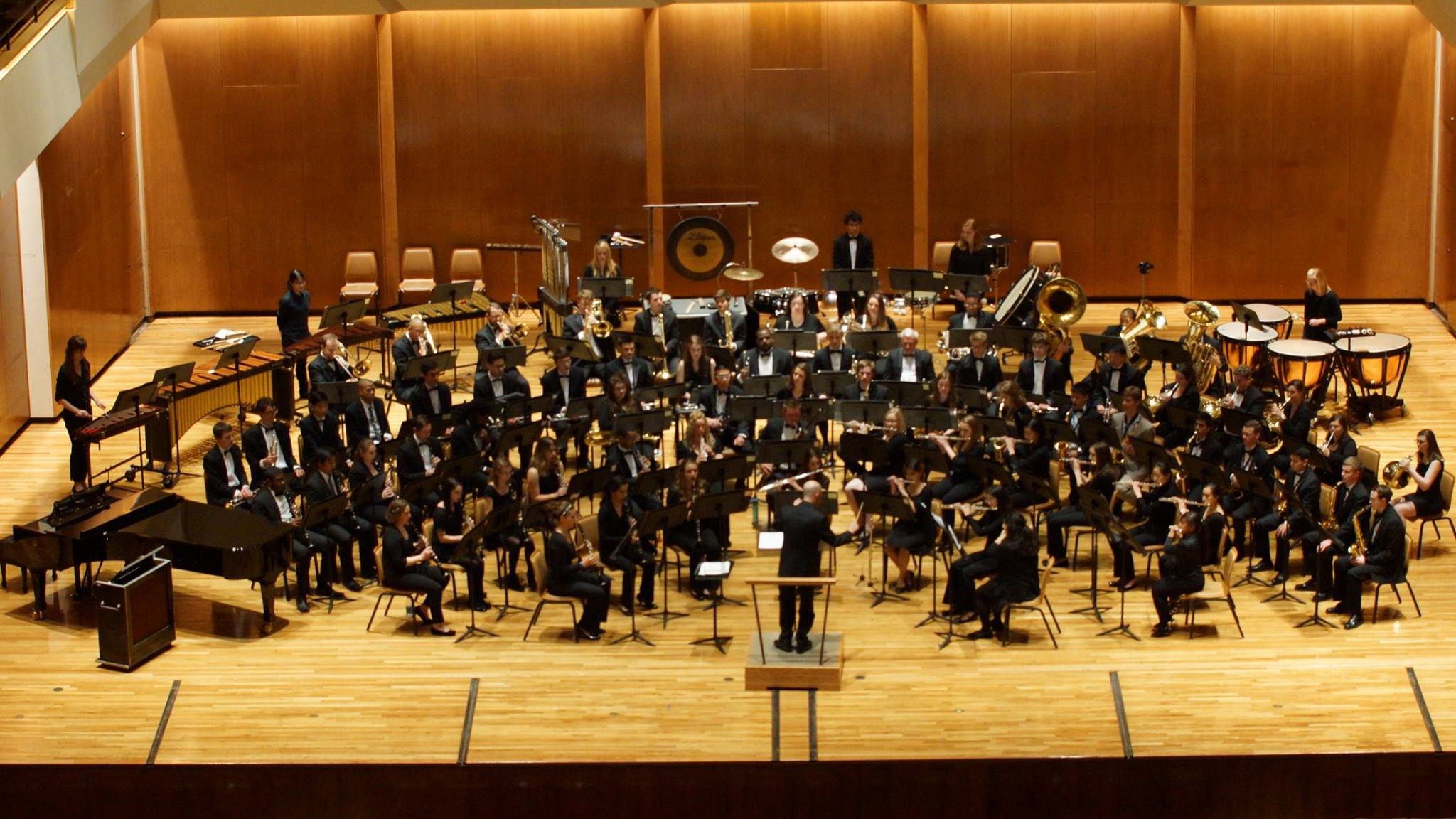 Campus Band - Barry L. Houser, conductorPatricia Vanegas Ruiz & Timothy Loman, graduate conductors