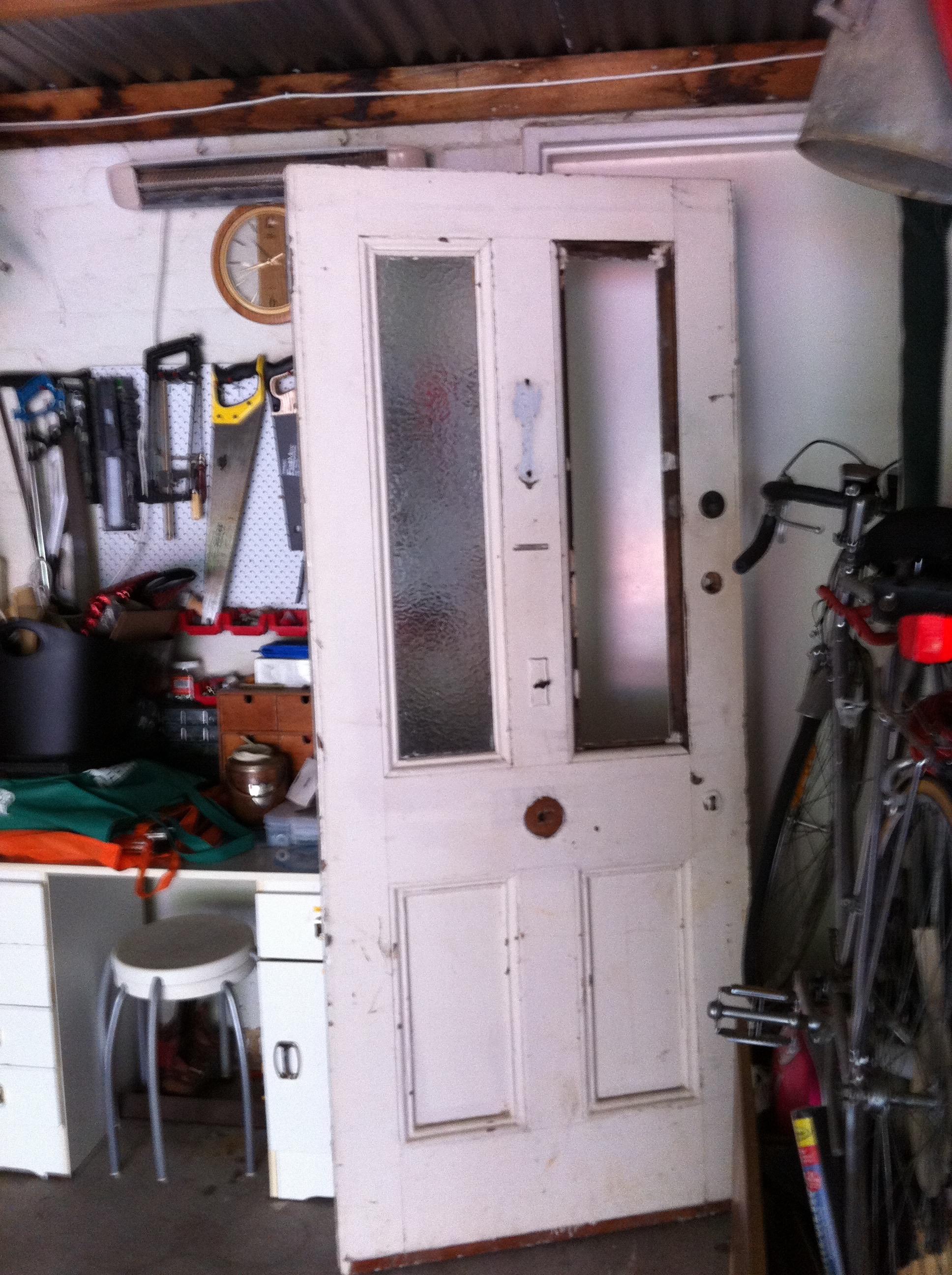 The door as it was