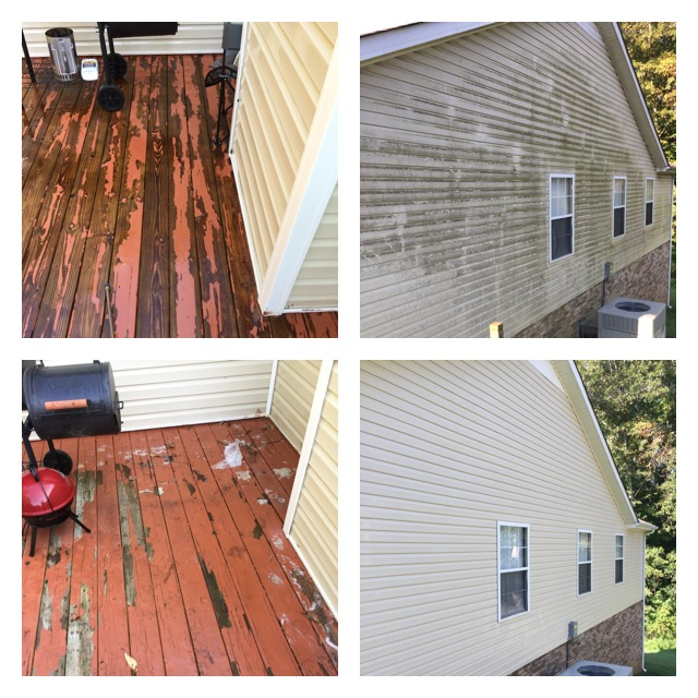 Deck Clean & House Wash