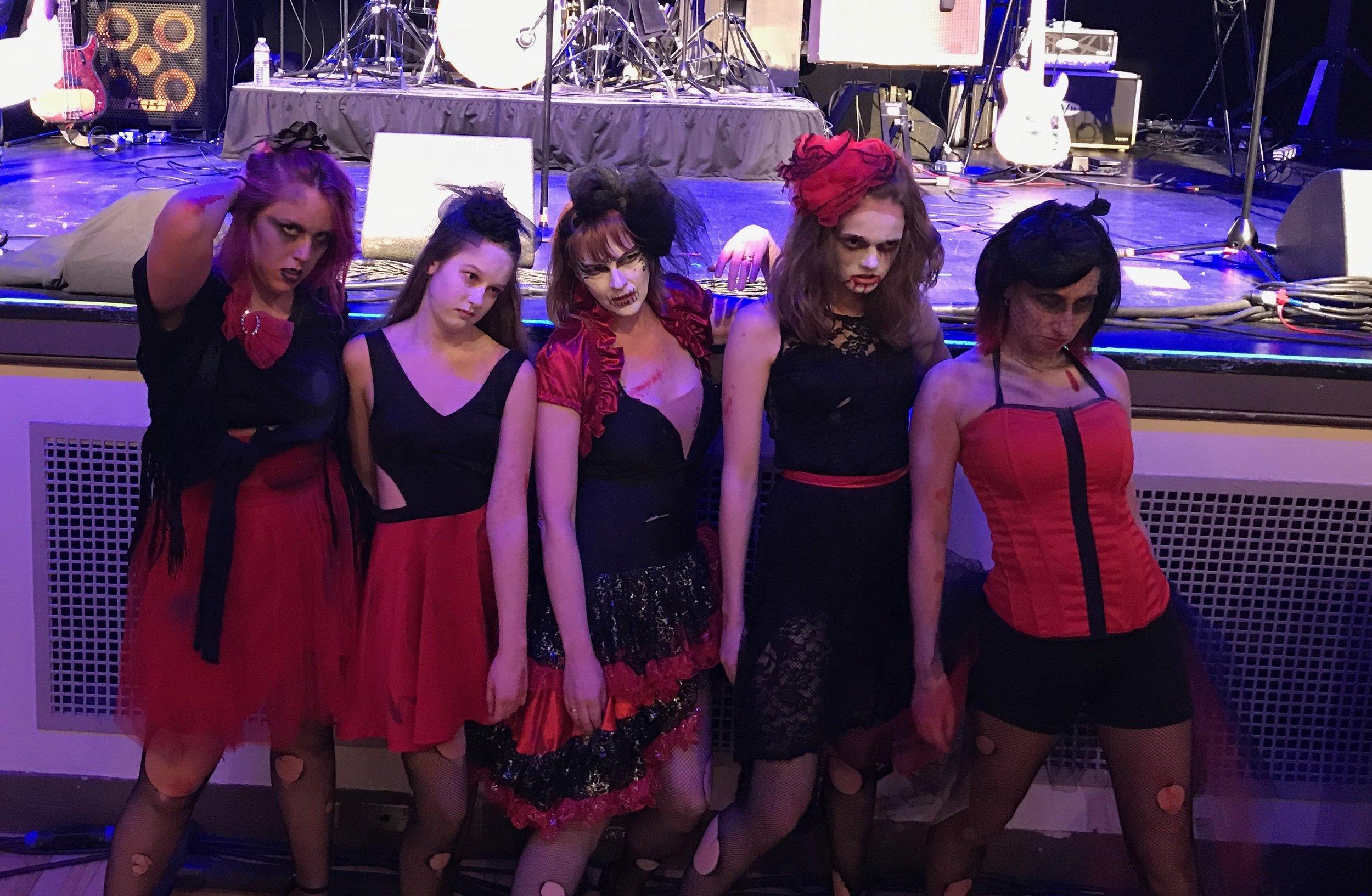 The Thriller Dancers at Monster Bash