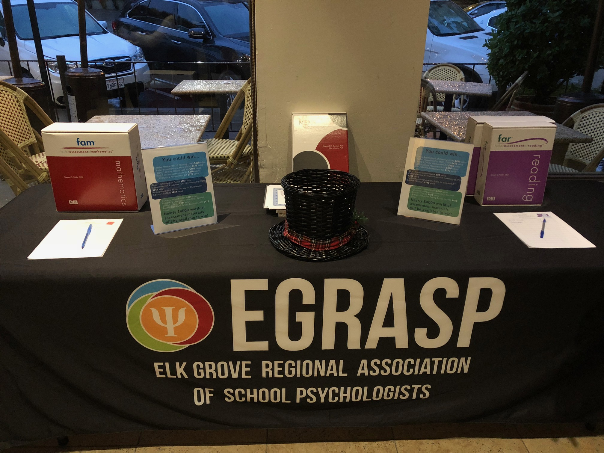 EGRASP Fall Mixer,  November 2017
