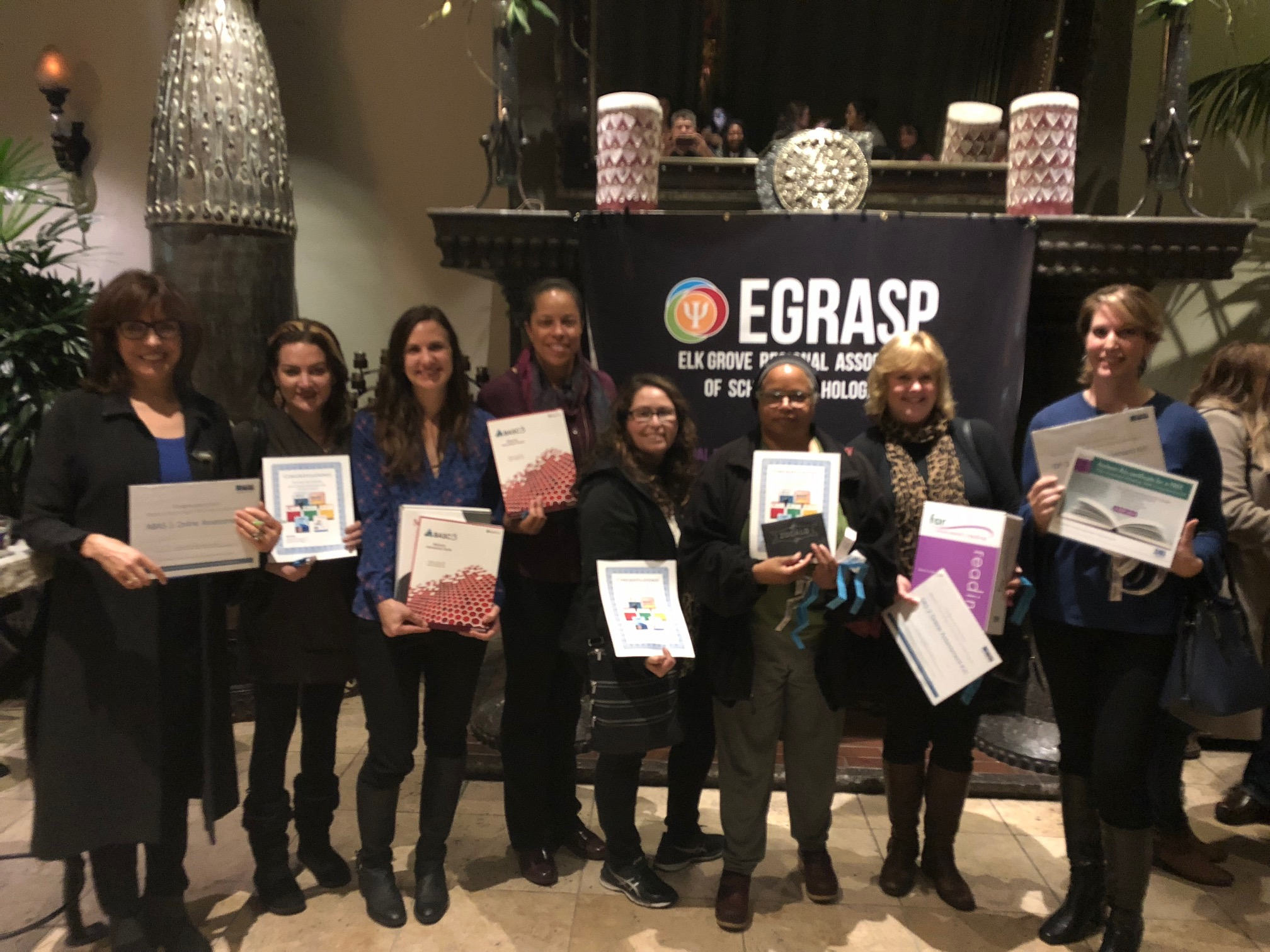 EGRASP Fall Mixer Winners,  November 2017