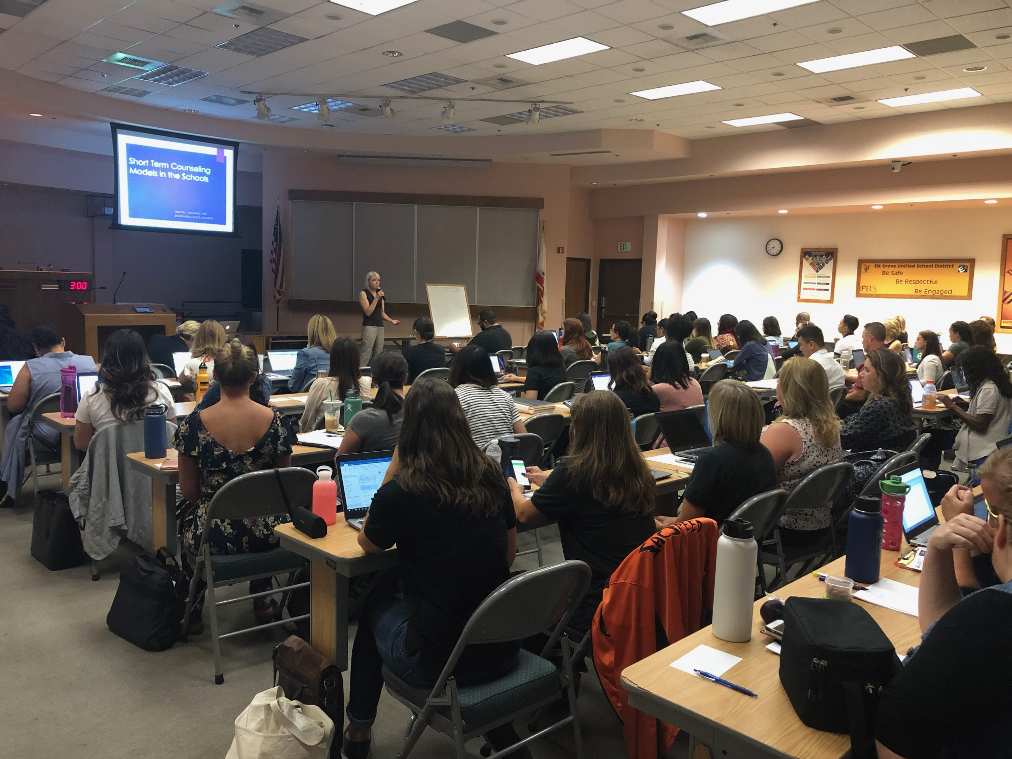 CBT and Solution Focused School Based Counseling with Dr. Melissa Holland,  Fall 2019