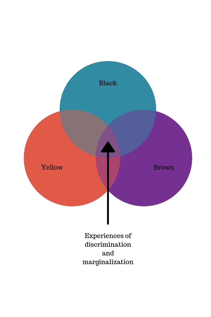 A simplified depiction of Paula's Venn diagram
