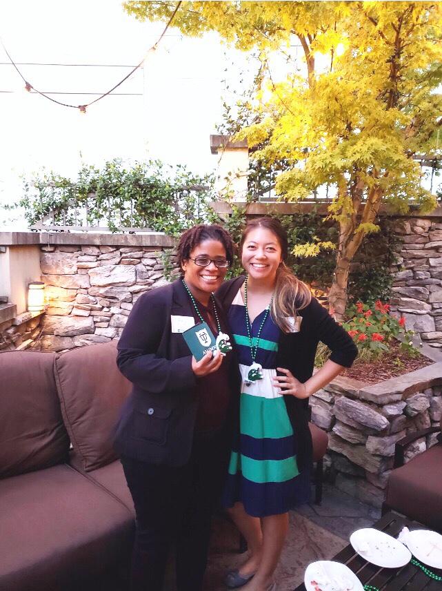 Two proud Tulane alumnae [Paula, left and Julia, right]