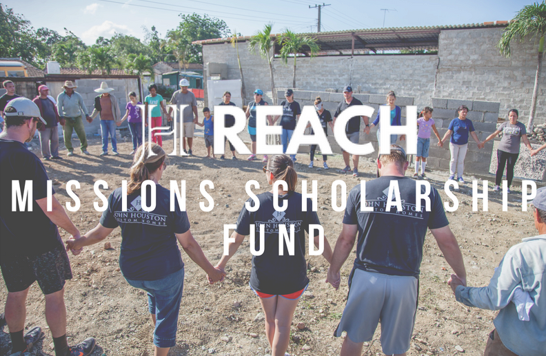 MISSIONS SCHOLARSHIP FUND - Help other JH Family of Companies employees/family members go on a JH Reach mission trip. Your donation will go to help members in financial need attend a JH Reach mission trip. Thank you for making it possible for others to go and serve!