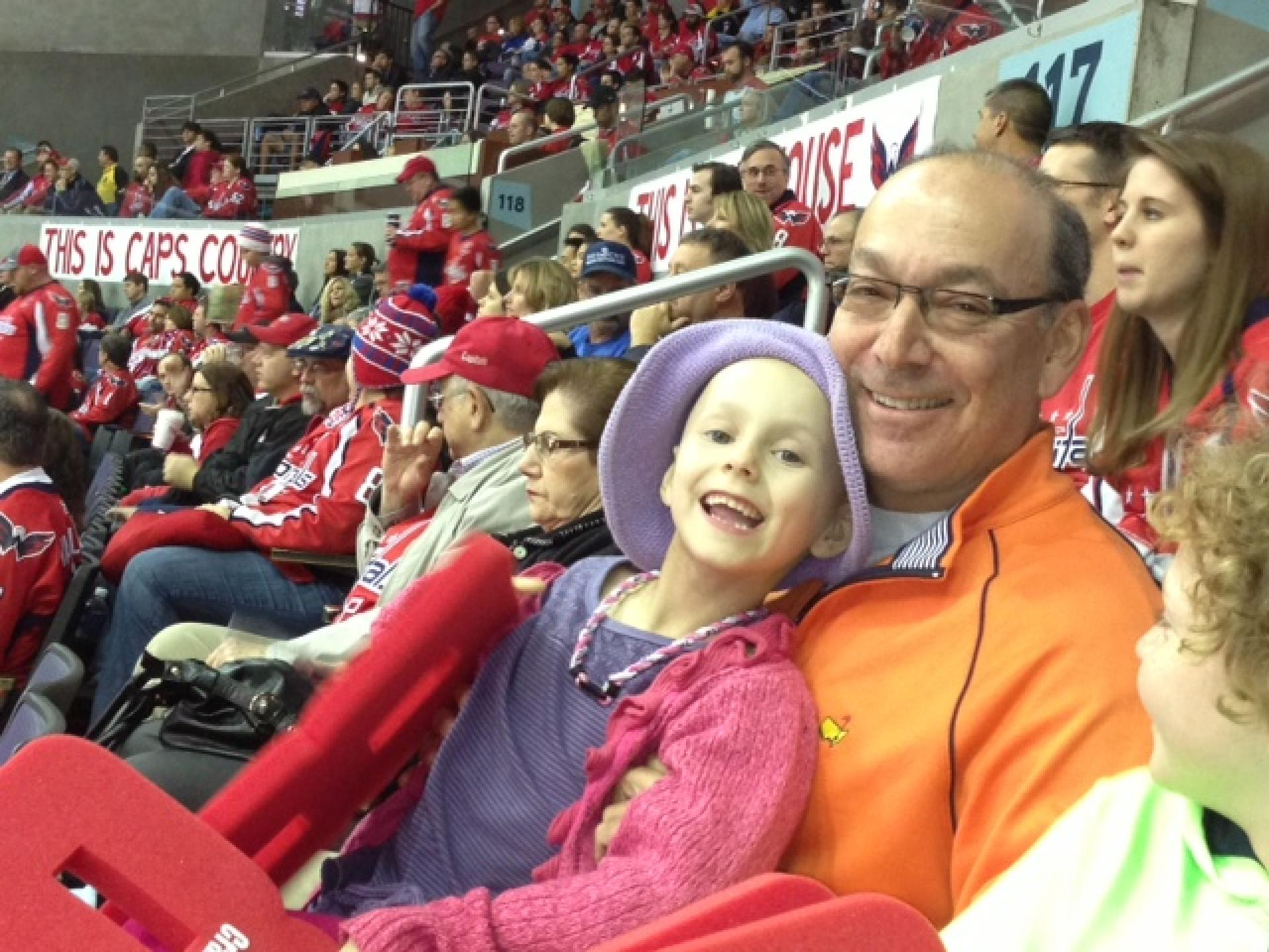 FFP Julia Schiffman Capitals game with Dad_0.jpg