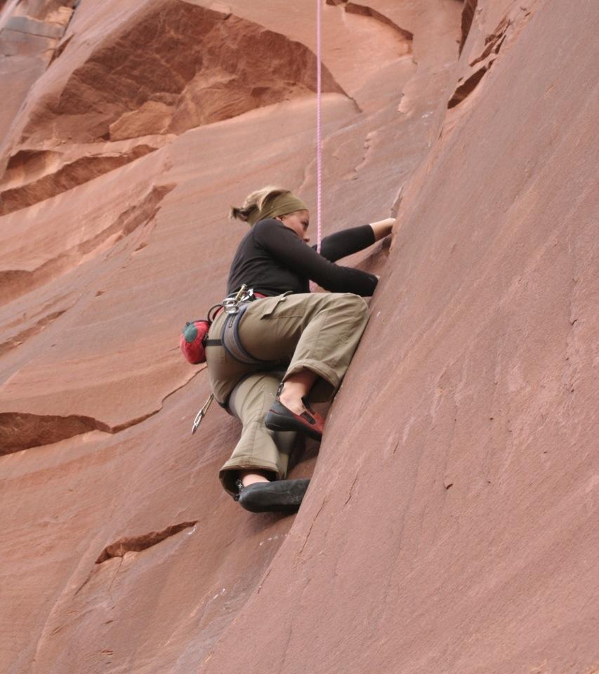 Sandstone Climbing