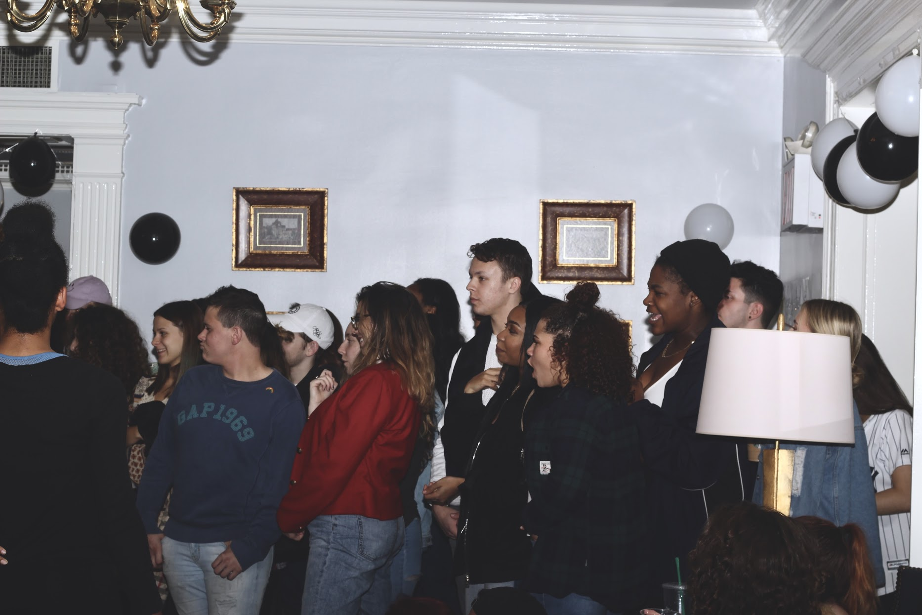 Crowd    Photo taken by Kobi Ross