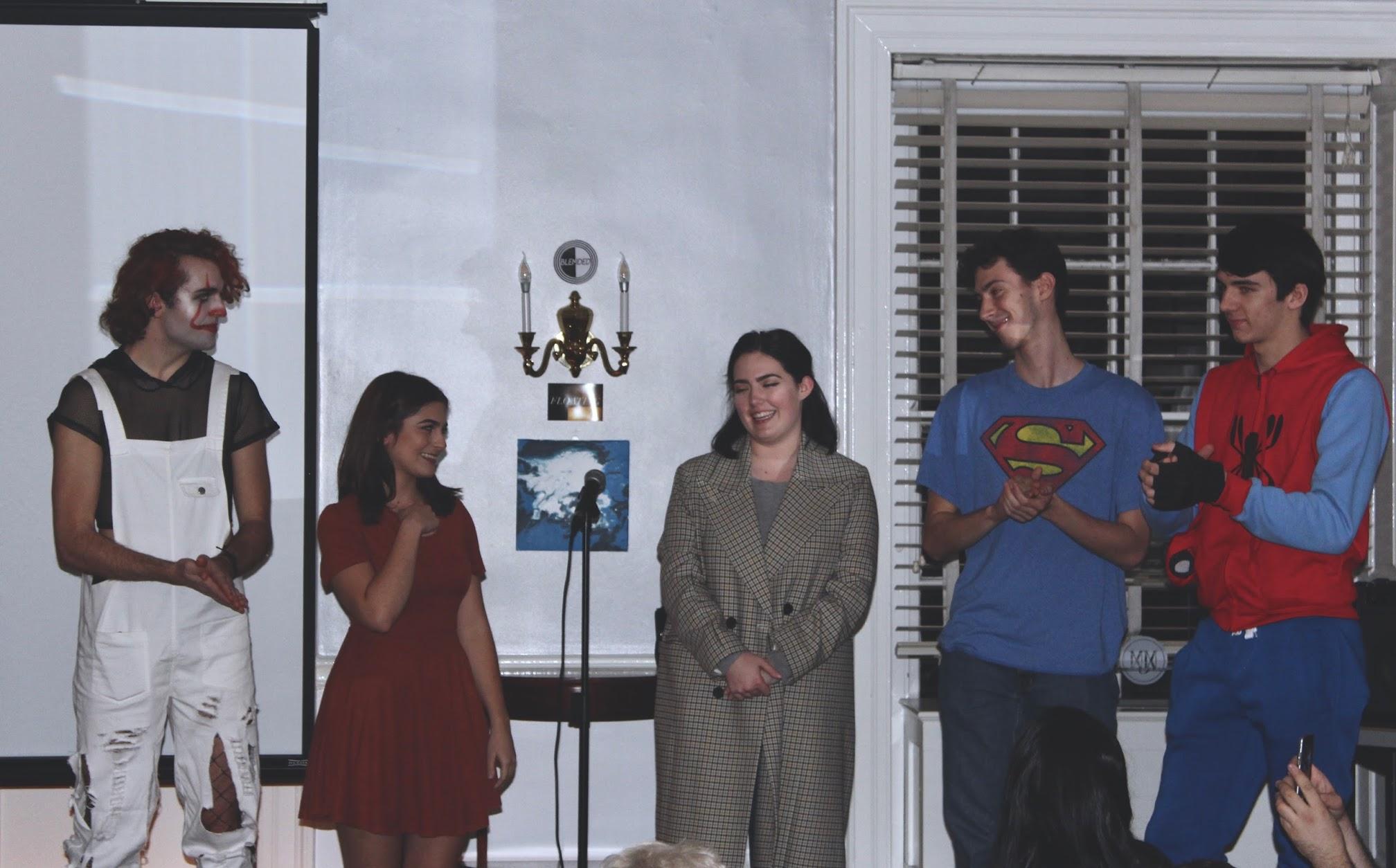 'Floating' Cast with Co-Director Flynn Osman