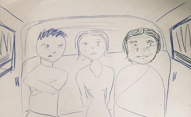 PHOTO: FLYNN OSMAN / BLENDED  Nancy Pop's Drawing of  What's Wrong with Alfred?