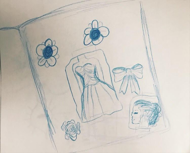 PHOTO: FLYNN OSMAN / BLENDED  Shelby LenHart's Drawing of  Thumb Sucker