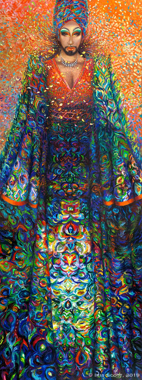 MangHoe Lassi Rising  (2019),  Iris Scott